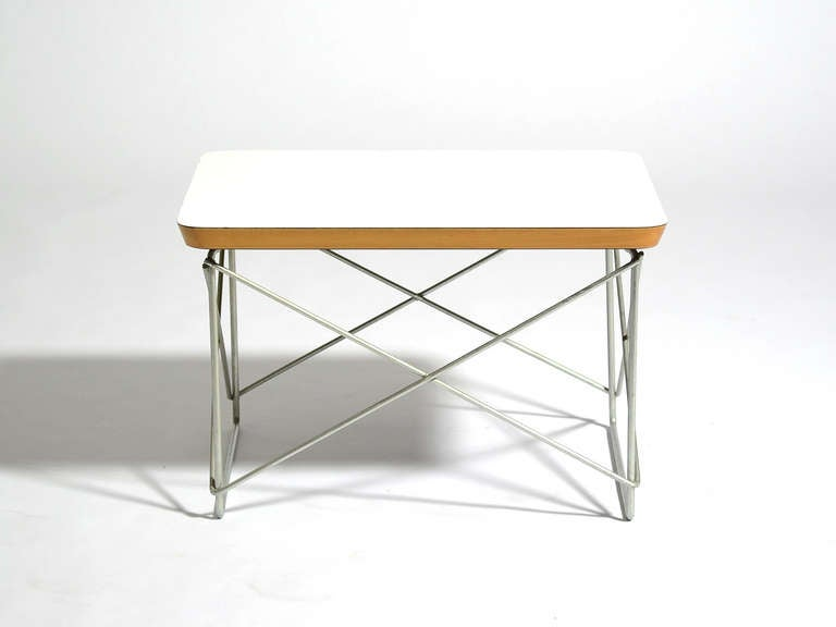 American Charles and Ray Eames LTR Table by Herman Miller For Sale