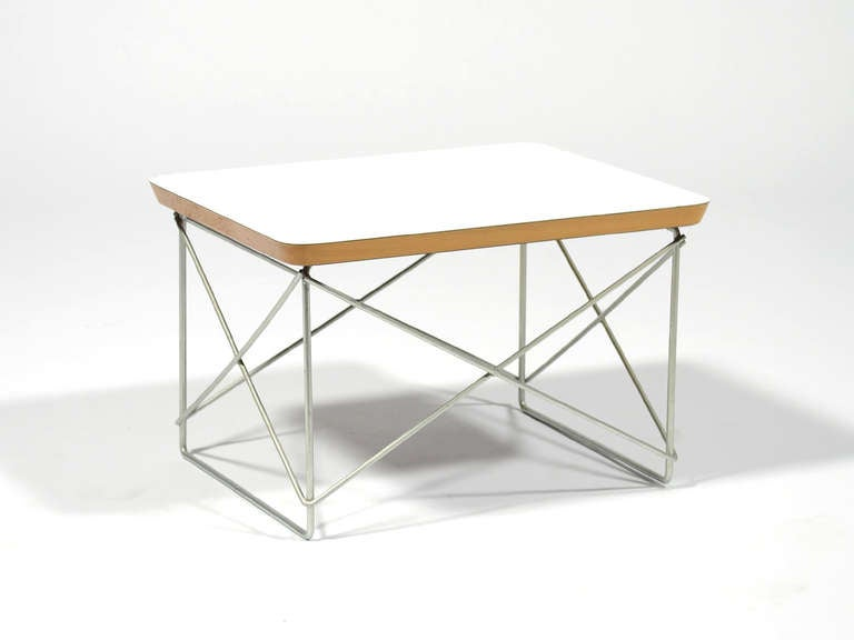 Mid-Century Modern Charles and Ray Eames LTR Table by Herman Miller For Sale