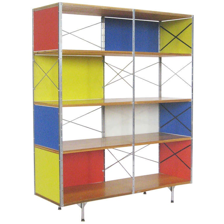 Charles And Ray Eames ESU 400 C Storage Unit By Herman Miller For Sale