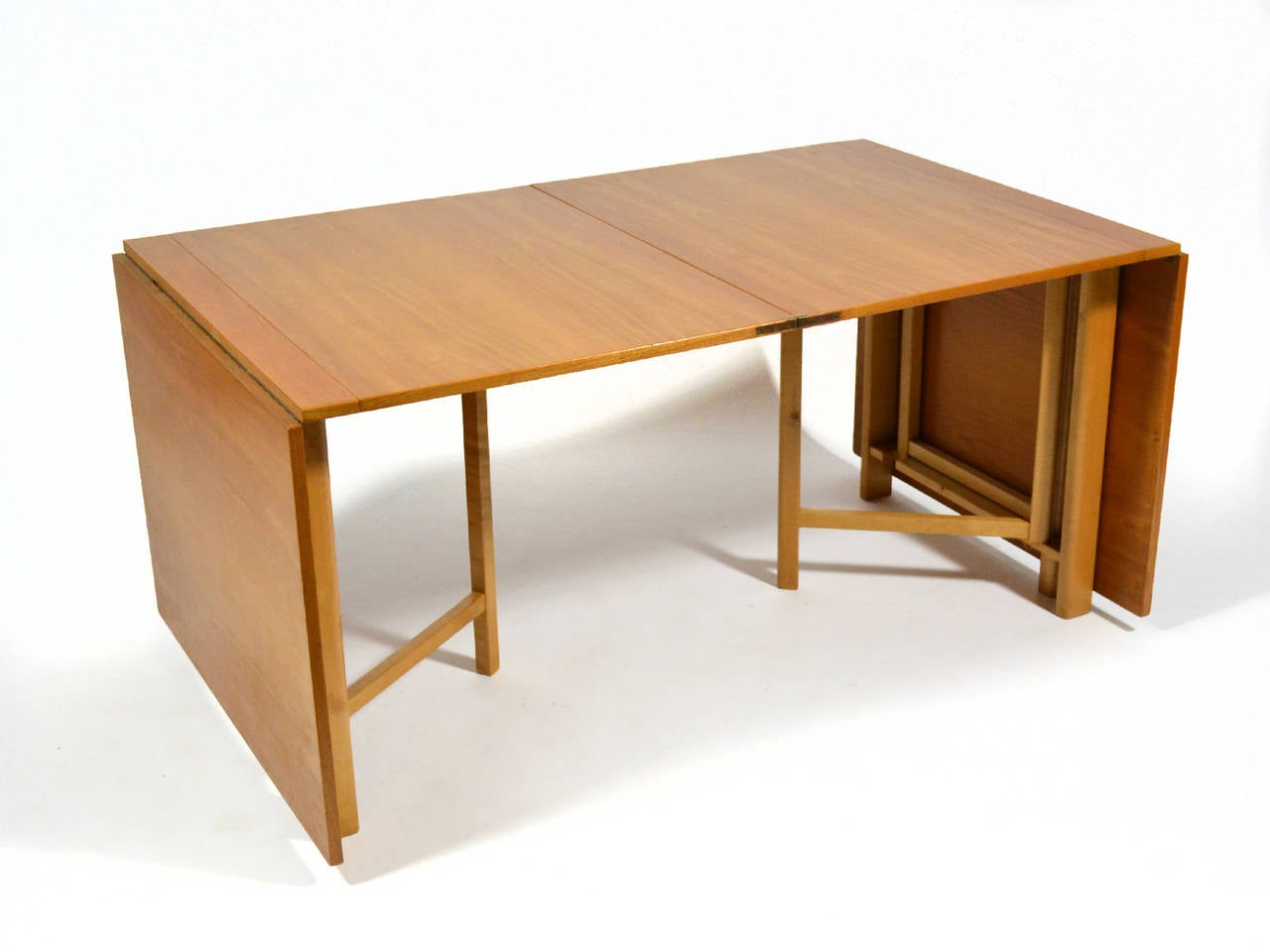 Bruno Mathsson Maria Expanding Or Folding Table At 1stdibs