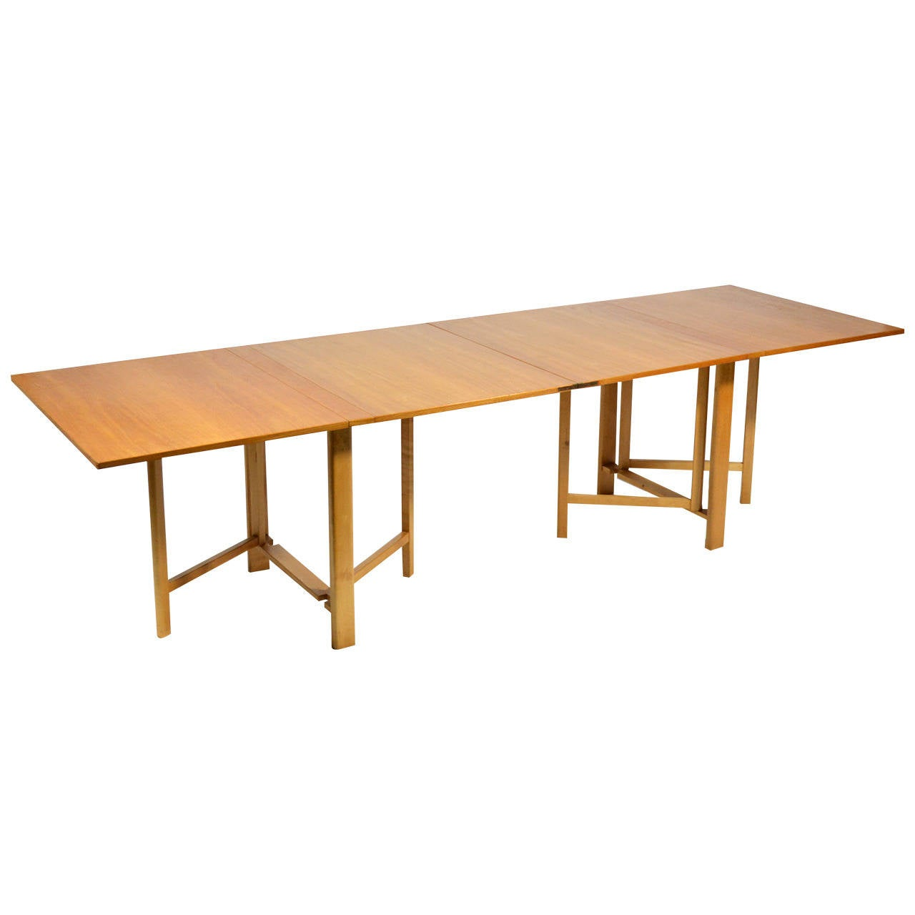 Bruno Mathsson quotMariaquot Expanding or Folding Table at 1stdibs : 2416742l from www.1stdibs.com size 1280 x 1280 jpeg 49kB