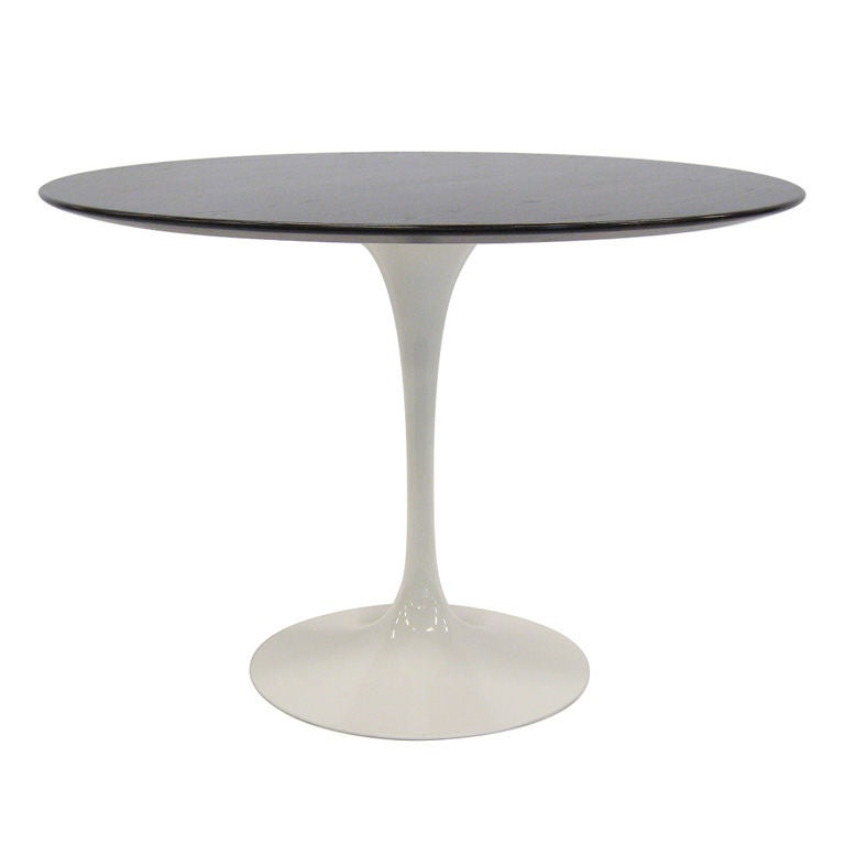 Eero Saarinen Tulip Table With Rosewood Top by Knoll at  : XXX909113284133631 from 1stdibs.com size 768 x 768 jpeg 15kB