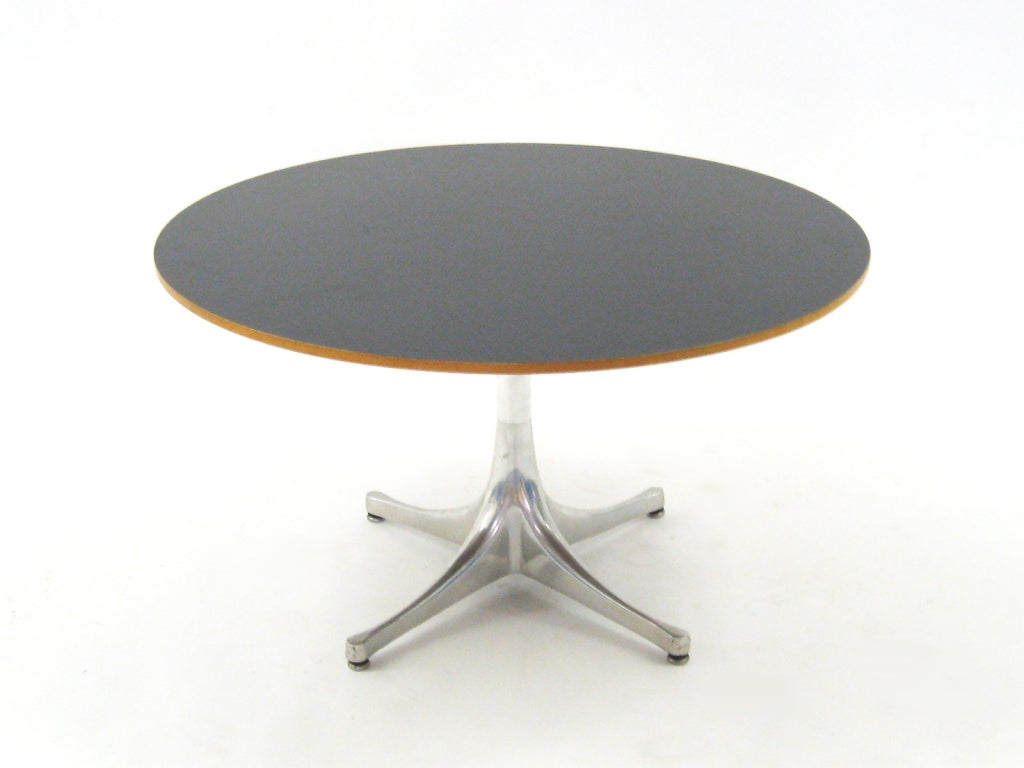 George Nelson Pedestal Table By Herman Miller 2