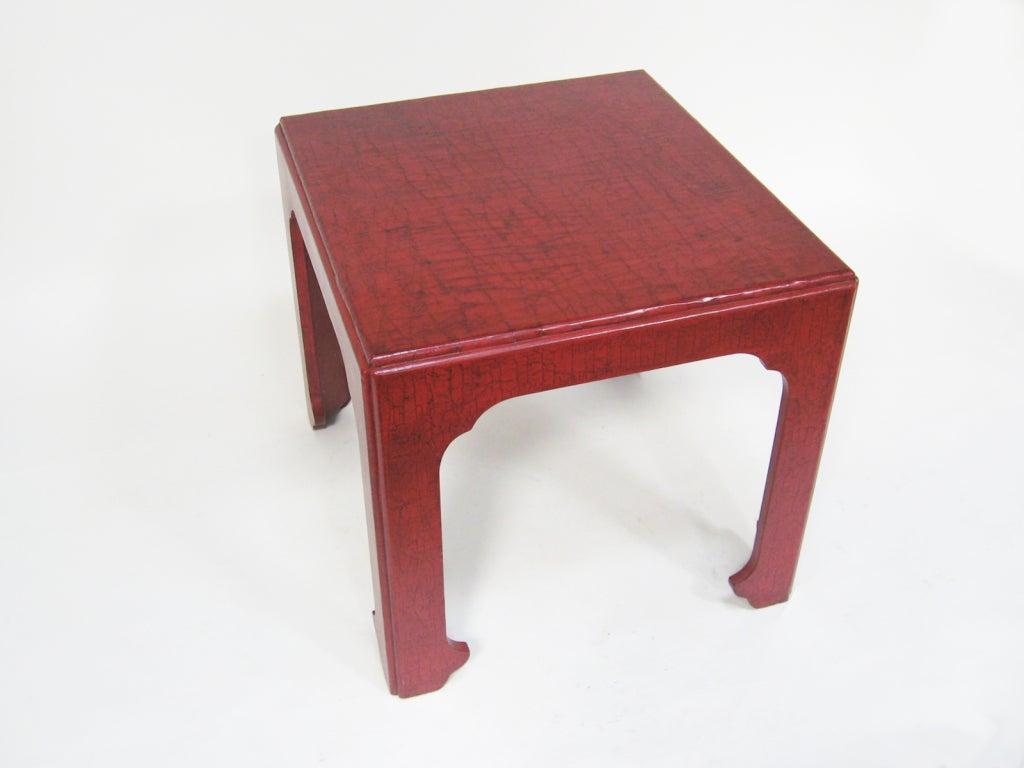 Baker Asian Modern Side Table For Sale 3