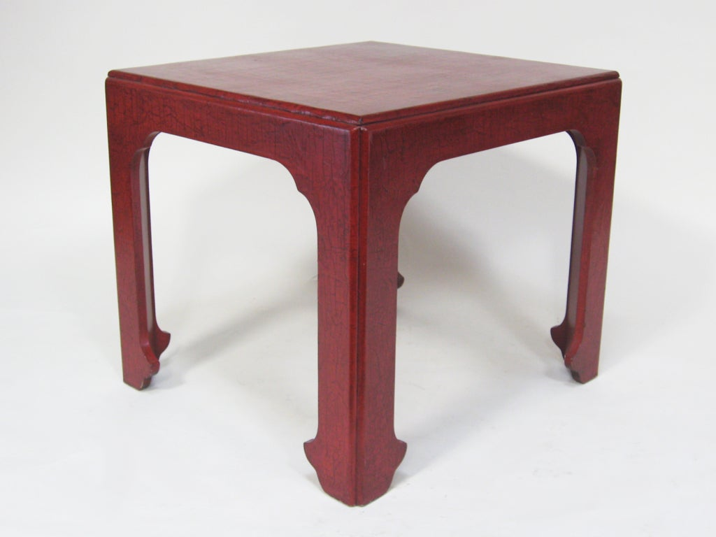 Mid-20th Century Baker Asian Modern Side Table For Sale
