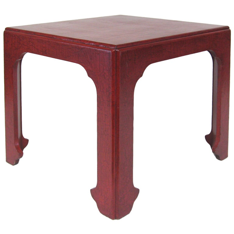 Baker Asian Modern Side Table 1   Baker Asian Modern Side Table For Sale At  1stdibs