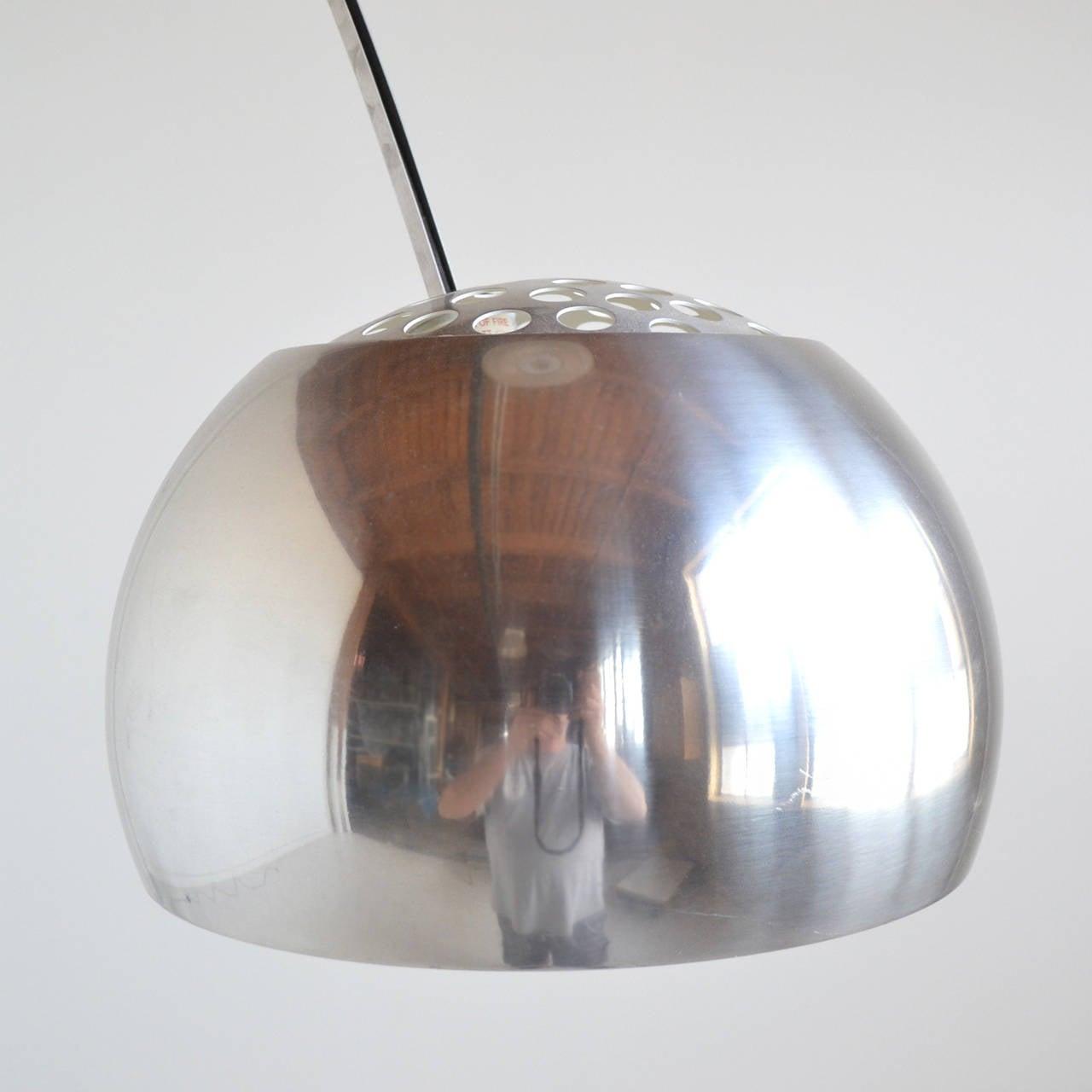 Aluminum Achille Castiglioni Arco Lamp by Flos For Sale