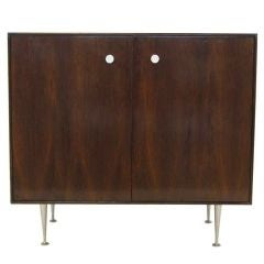 George Nelson rosewood thin-edge cabinet by Herman Miller