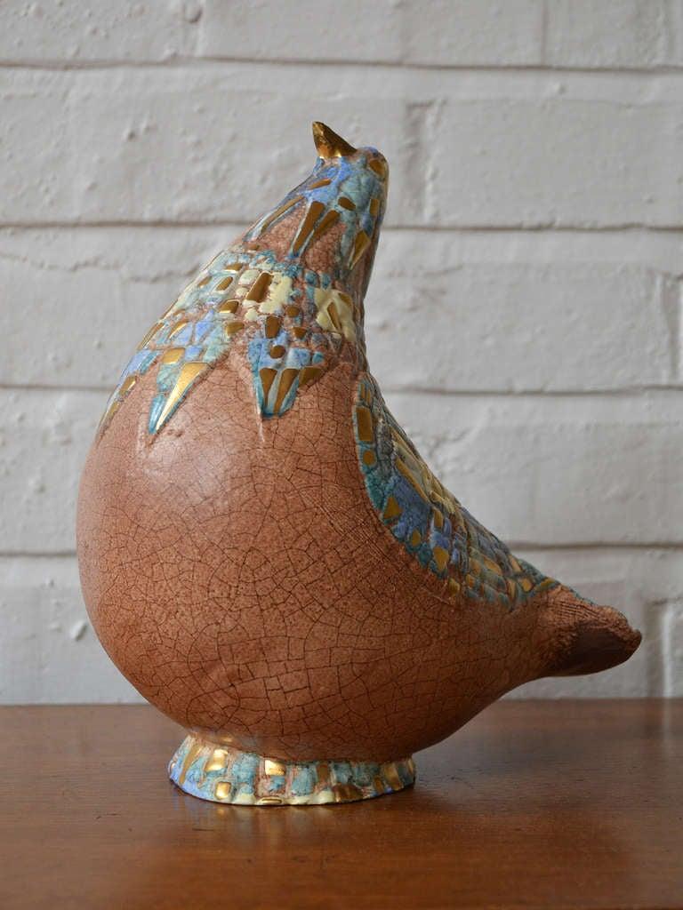 Abstract Bird Sculpture By Sascha Brastoff 7