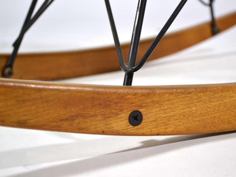 Rubber Eames Zenith Rope-Edge RAR Rocker by Herman Miller For Sale