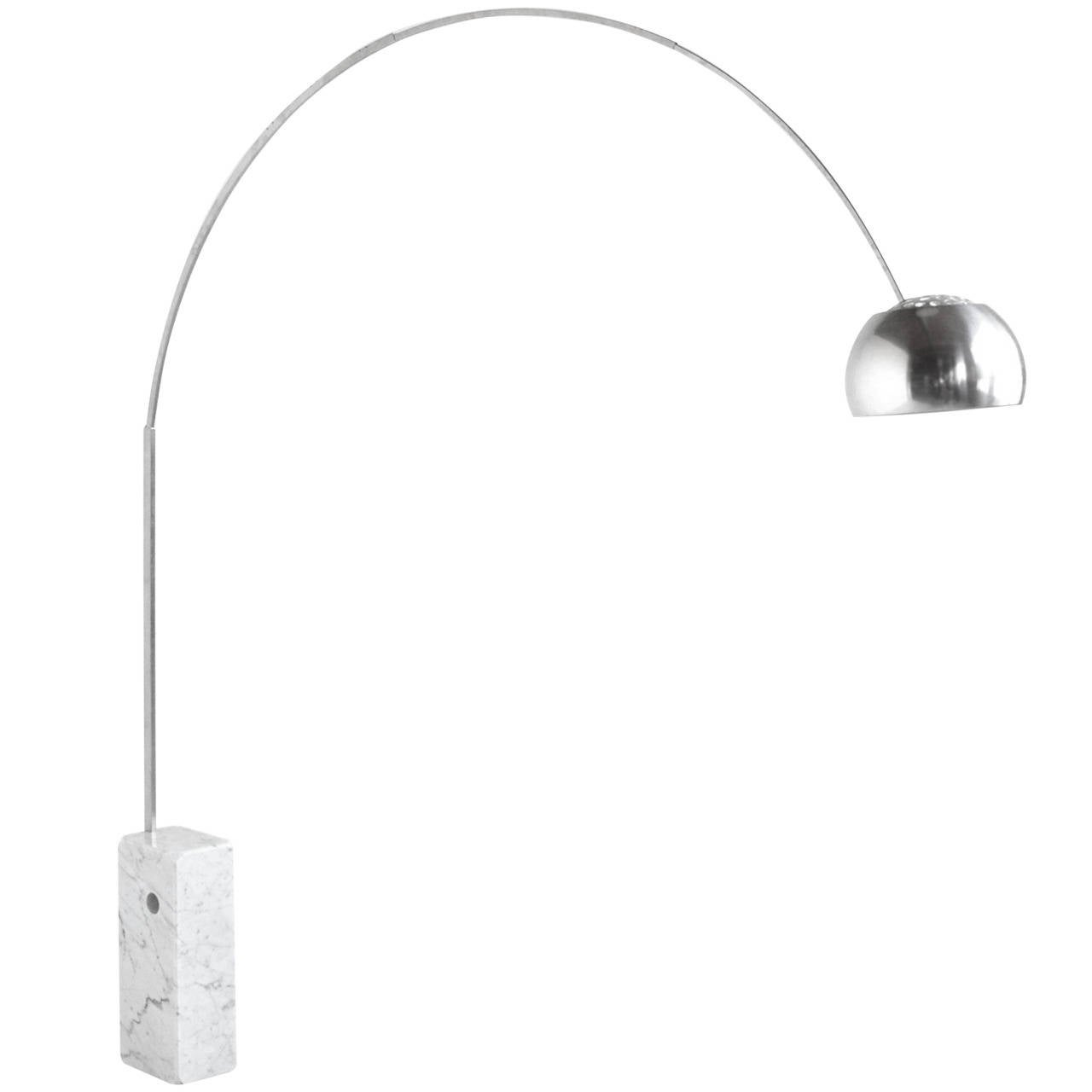 achille castiglioni arco lamp by flos for sale at 1stdibs
