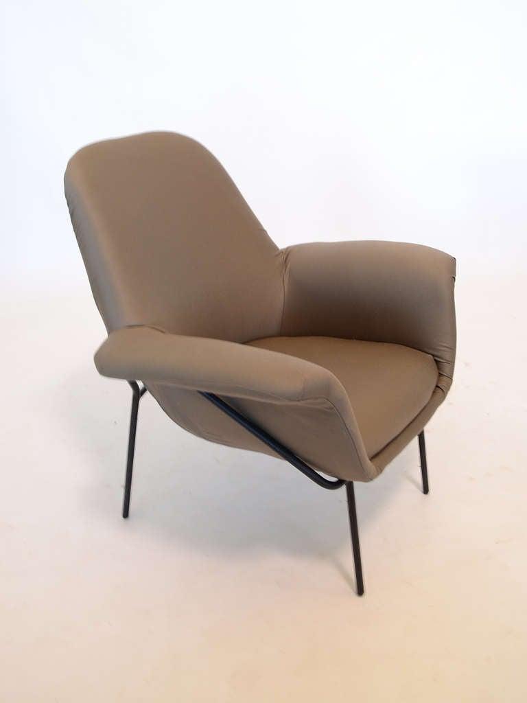 "Mid-Century Modern Giancarlo De Carlo ""Lucania"" Lounge Chair by Arflex For Sale"