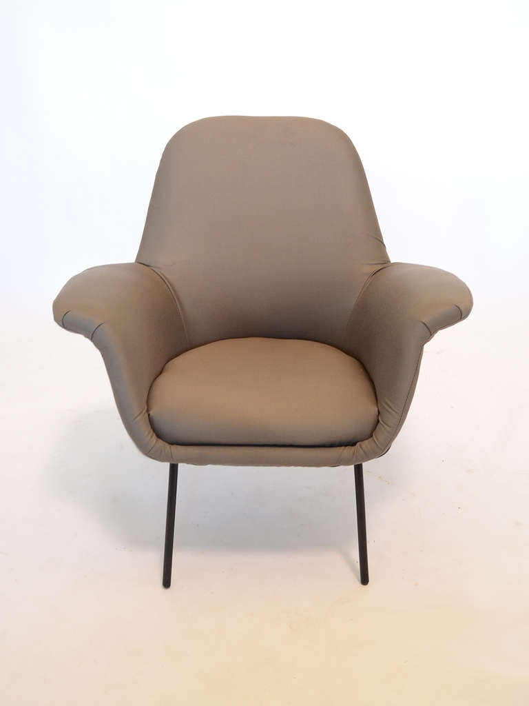 "Giancarlo De Carlo ""Lucania"" Lounge Chair by Arflex 4"