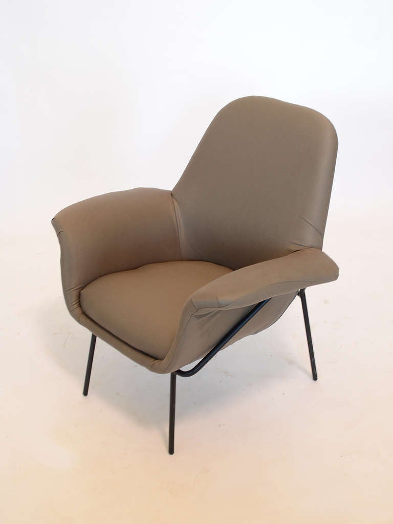 "Giancarlo De Carlo ""Lucania"" Lounge Chair by Arflex 6"