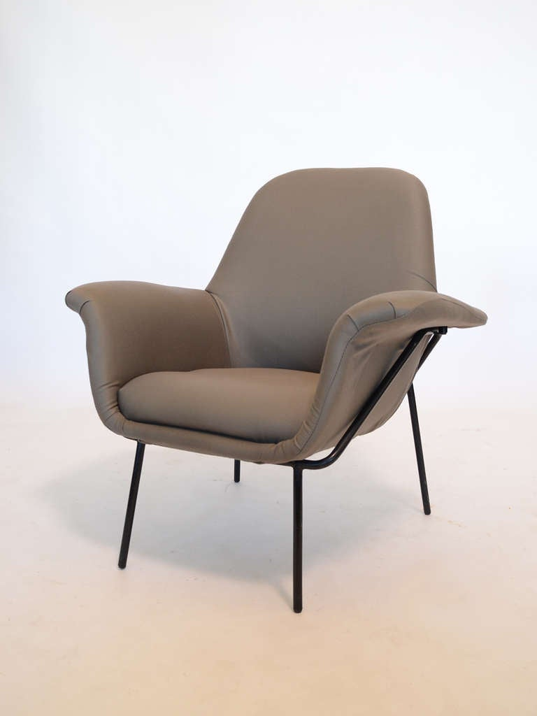 "Giancarlo De Carlo ""Lucania"" Lounge Chair by Arflex 8"