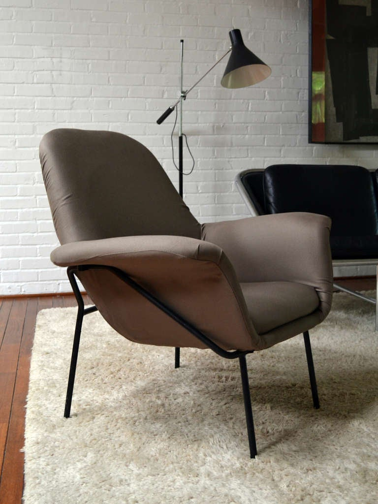 "Giancarlo De Carlo ""Lucania"" Lounge Chair by Arflex 9"