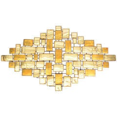 Large William Bowie Abstract Geometric Wall Sculpture