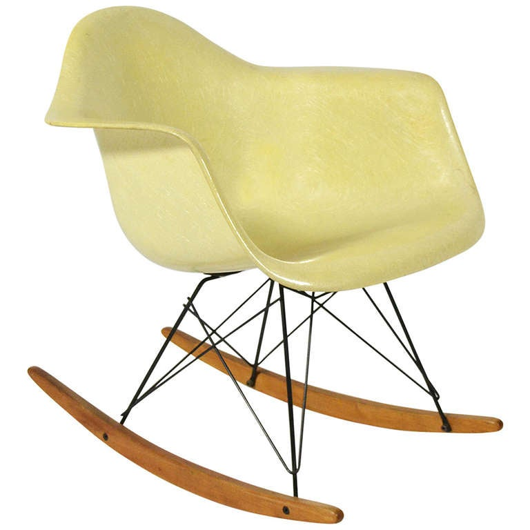 Eames Zenith Rope Edge RAR Rocker By Herman Miller