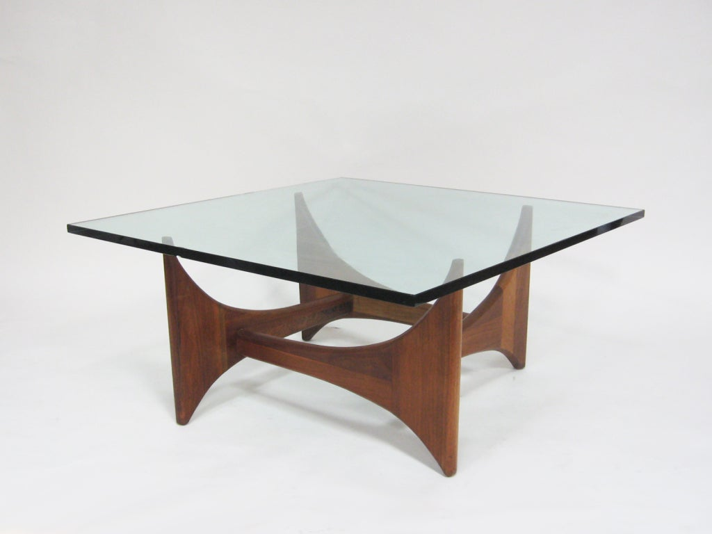 Adrian Pearsall coffee table by Craft Associates 2 - Adrian Pearsall Coffee Table By Craft Associates At 1stdibs