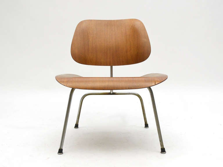 Charles and Ray Eames Walnut LCM Lounge Chair by Herman Miller For