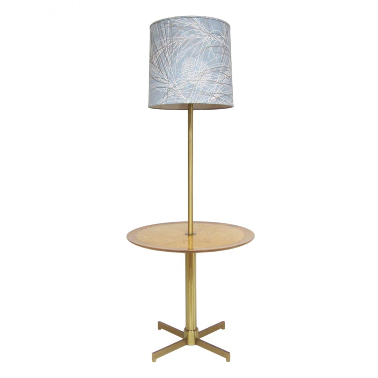 Rare Edward Wormley Lamp Table by Dunbar