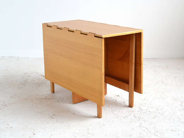 George Nelson Gate Leg Table By Herman Miller At 1stdibs