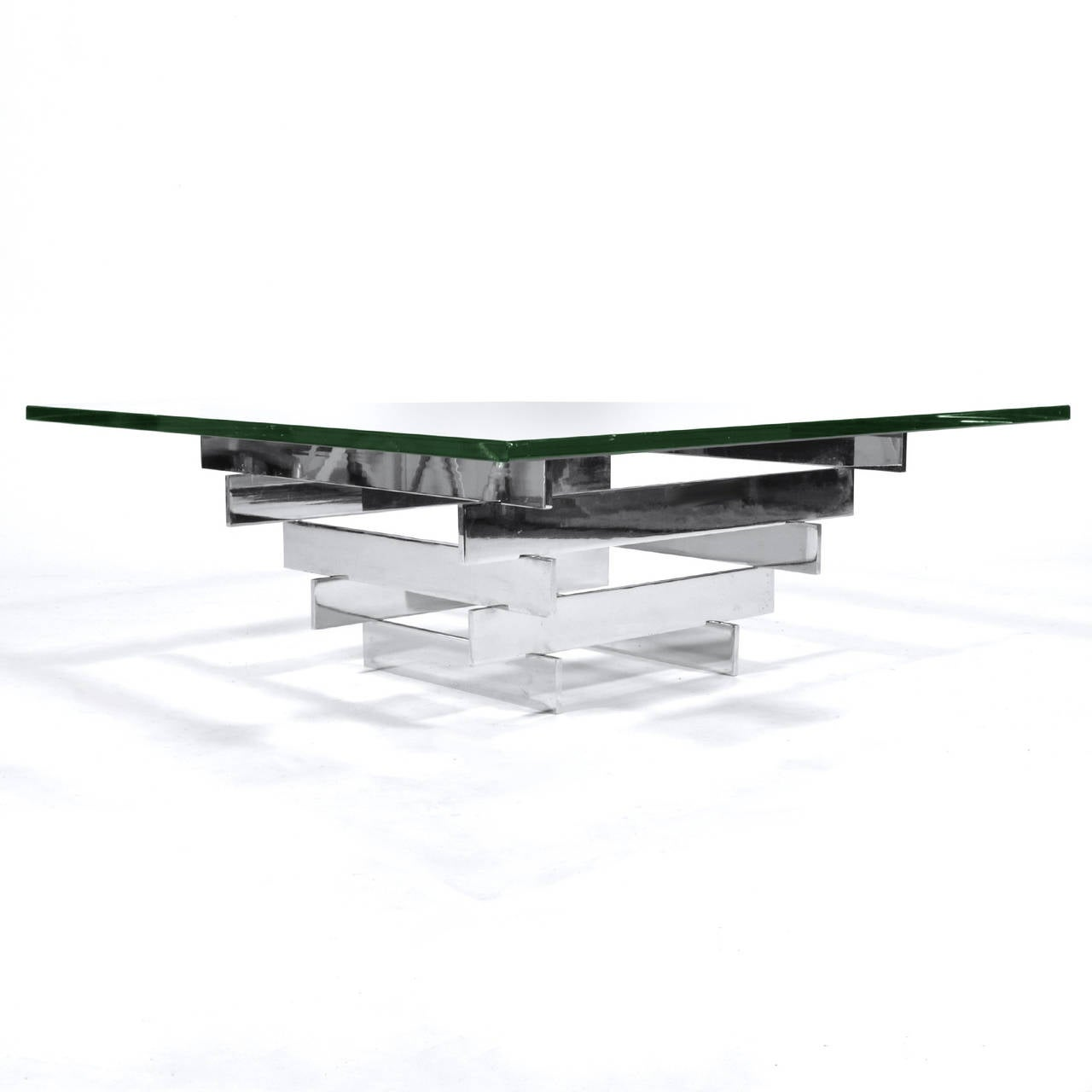 Plated Paul Mayen Cocktail Table by Habitat For Sale
