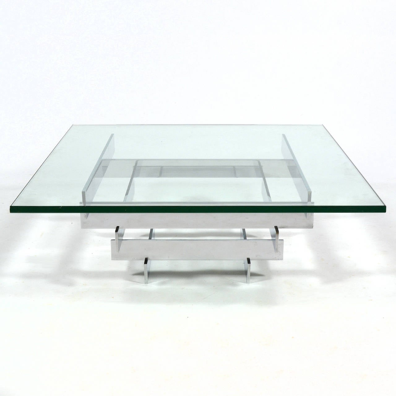 Paul Mayen Cocktail Table by Habitat In Good Condition For Sale In Highland, IN