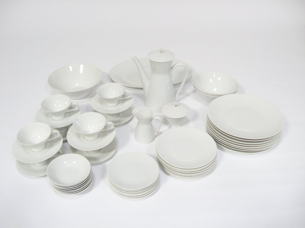 Rosenthal Form 2000 : rosenthal form 2000 dinnerware set by raymond loewy at 1stdibs ~ Watch28wear.com Haus und Dekorationen