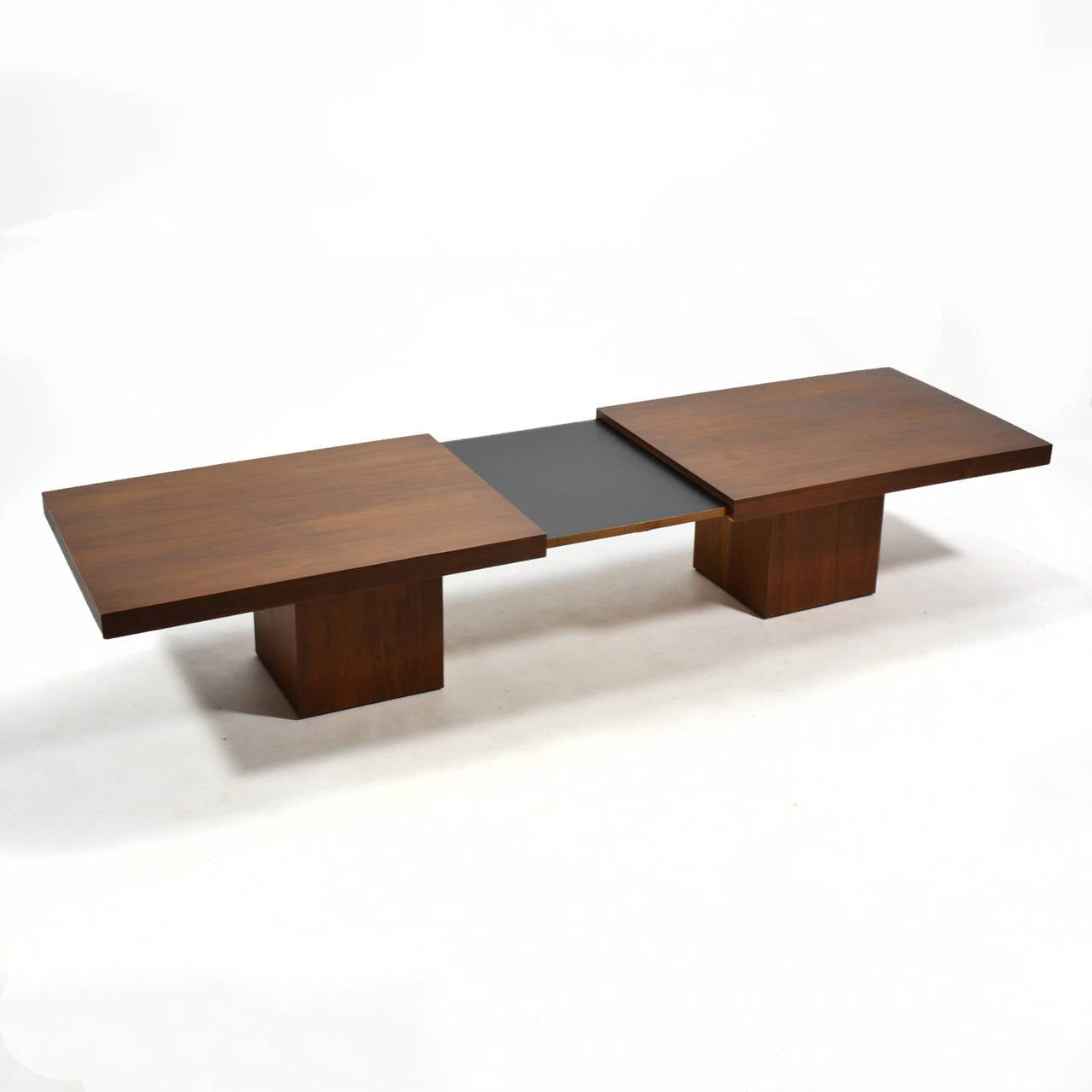 Expandable Coffee Table john keal expanding coffee tablebrown saltman for sale at 1stdibs