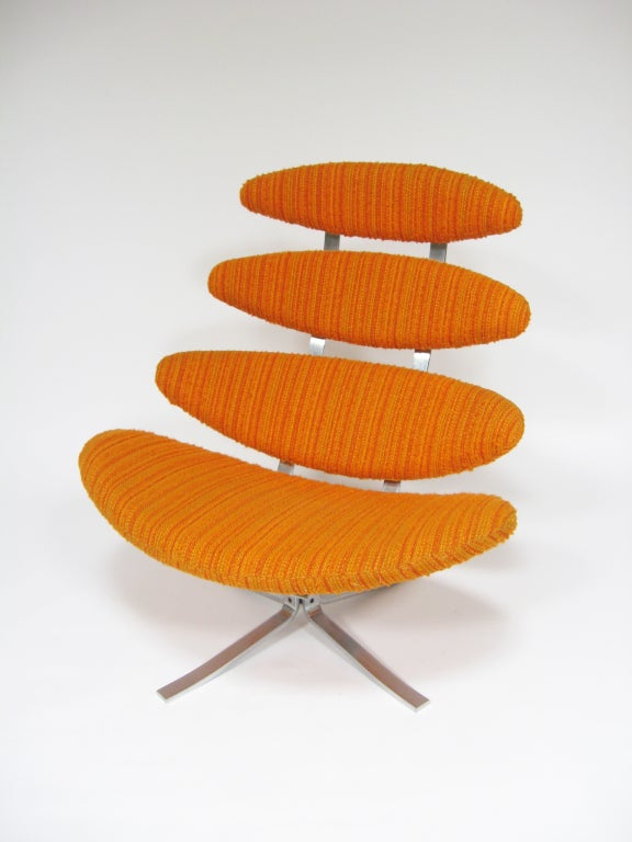 Poul Volther Corona chair by Erik Jorgenen For Sale 2