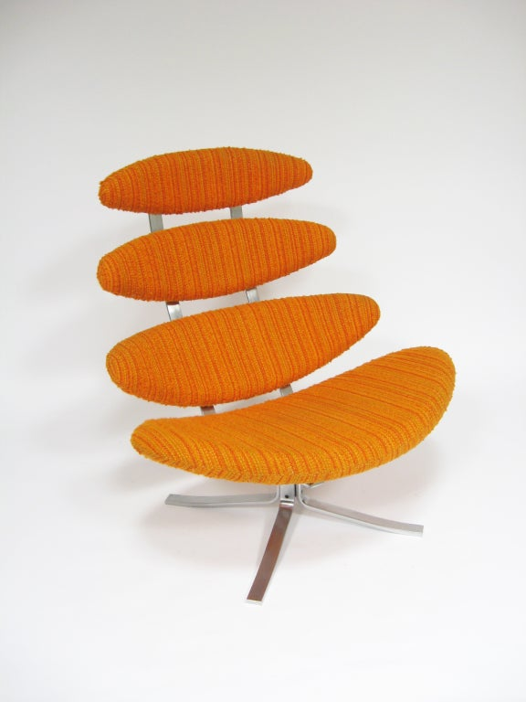 Poul Volther Corona chair by Erik Jorgenen For Sale 3