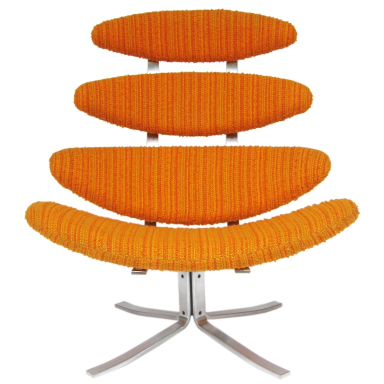 Poul Volther Corona chair by Erik Jorgenen For Sale