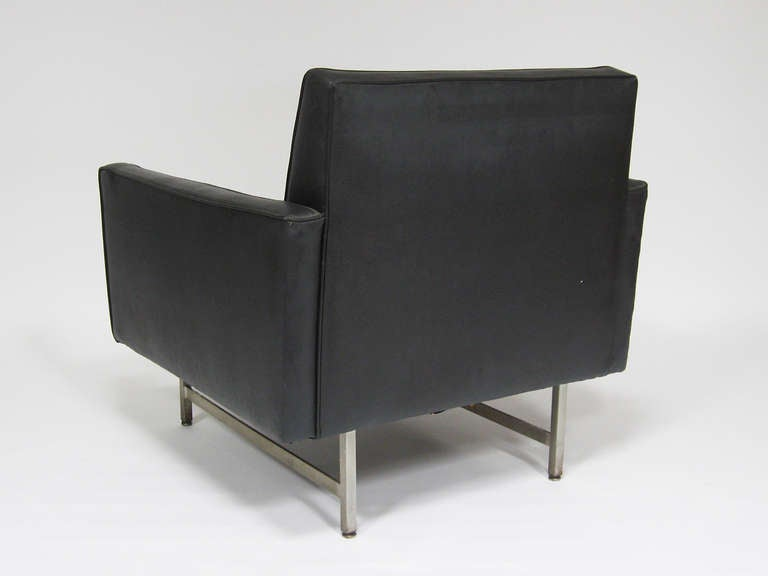 Mid-20th Century Paul McCobb Lounge Chair by Custom Craft for Directional For Sale