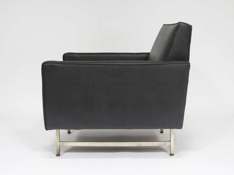 Paul McCobb Lounge Chair by Custom Craft for Directional For Sale 1