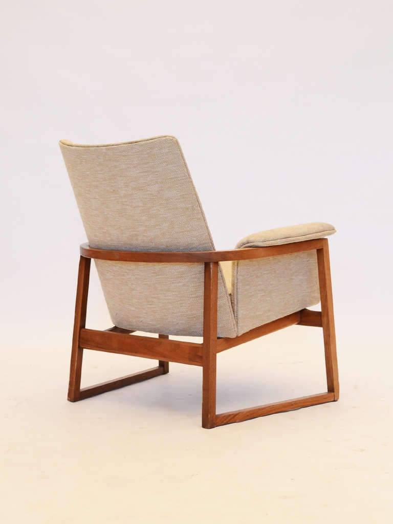Lounge chair by Jens Risom at 1stdibs