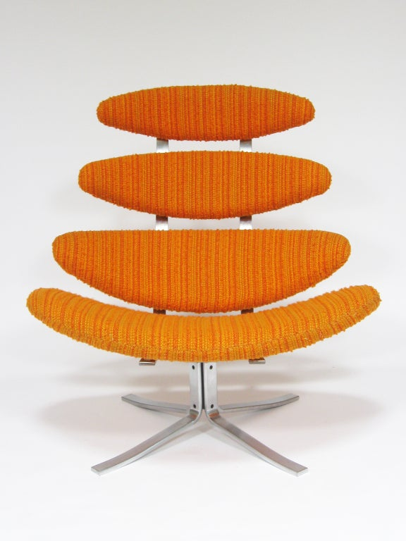 Poul Volther Corona chair by Erik Jorgenen For Sale 4