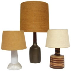 Table Lamps by Gordon and Jane Martz for Marshall Studios