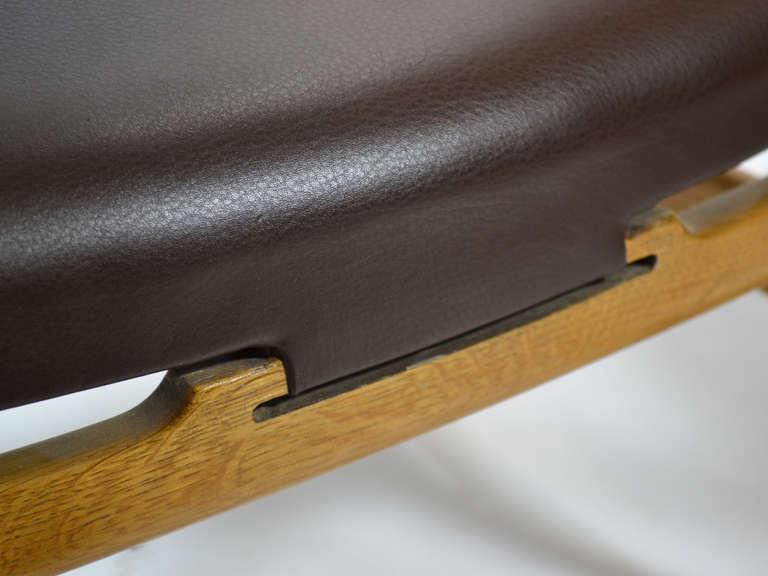 Rare Pair of Hans Wegner CH22 Easy Chairs by Carl Hansen 9