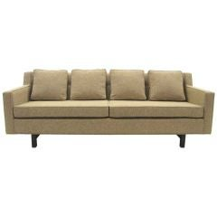 Edward Wormley Loose Cushion Sofa by Dunbar