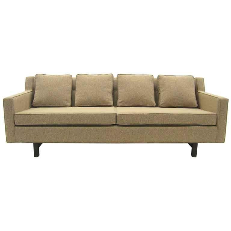 Edward Wormley Loose Cushion Sofa by Dunbar For Sale