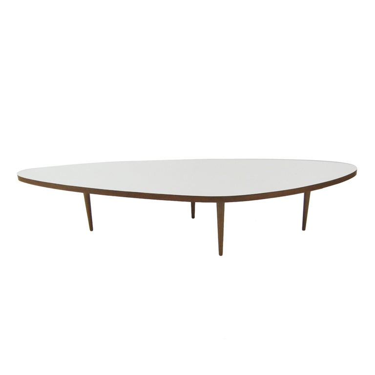 Oversize Free Form Coffee Table By Harvey Probber At 1stdibs