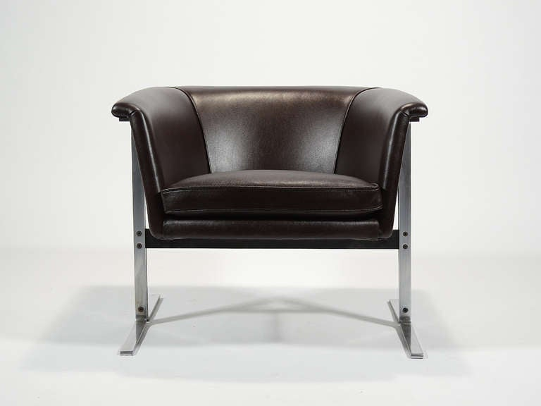 Dutch Geoffrey Harcourt Model 042 Lounge Chair by Artifort For Sale