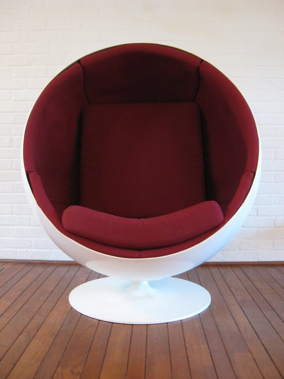 Ball Chair By Eero Aarnio At 1stdibs