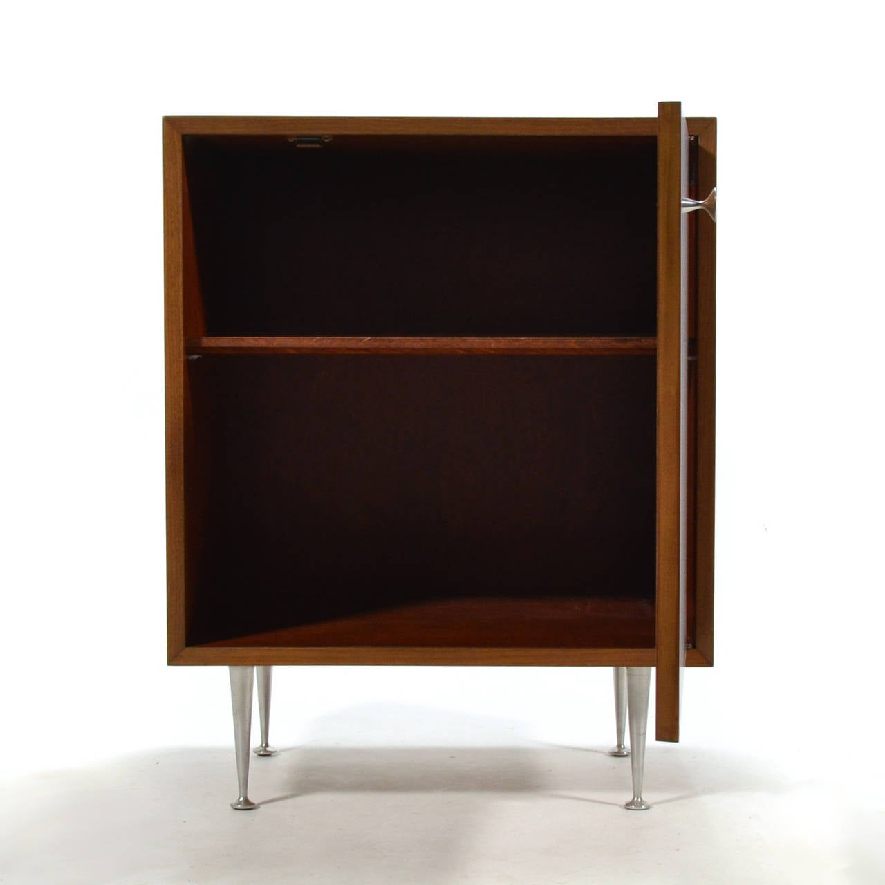 George Nelson Walnut Cabinet by Herman Miller For Sale 1