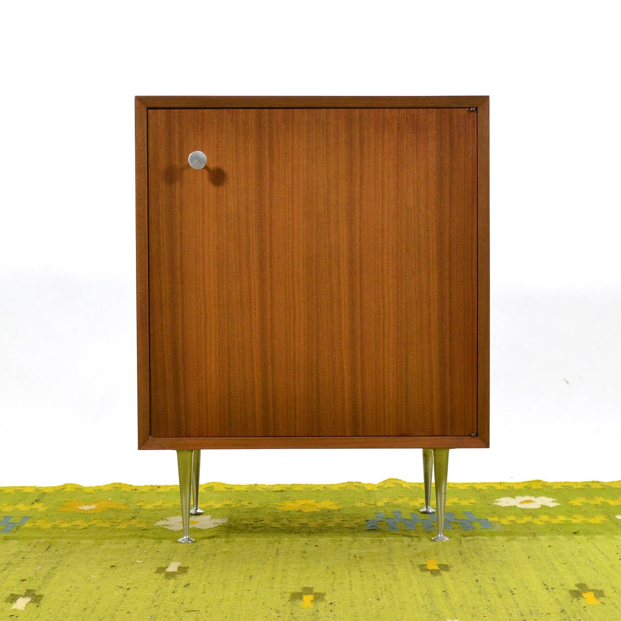 George Nelson Walnut Cabinet by Herman Miller For Sale 3