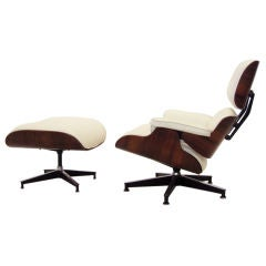 Eames rosewood lounge chair & ottoman by Herman Miller