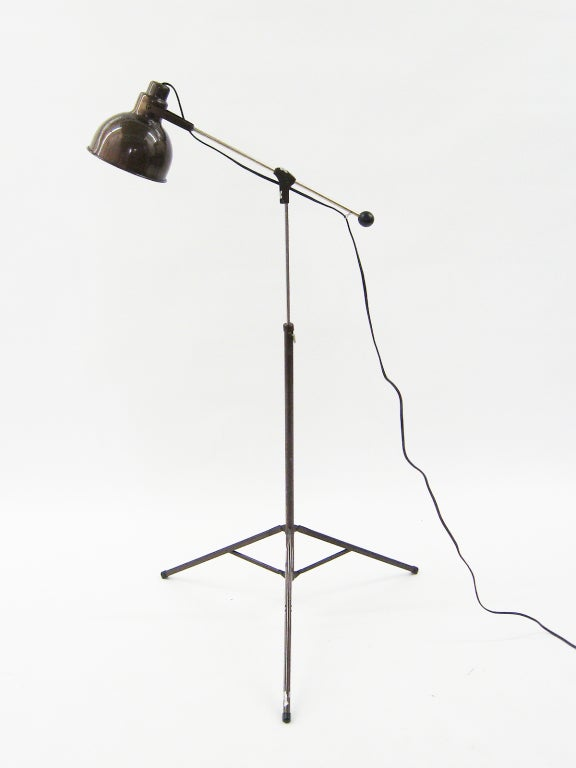 1960s industrial floor lamp for sale at 1stdibs