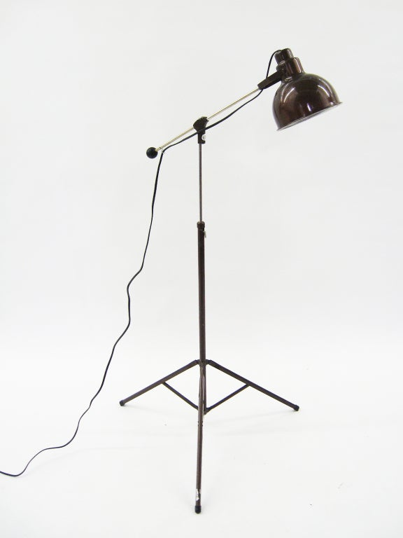 1960s industrial floor lamp at 1stdibs