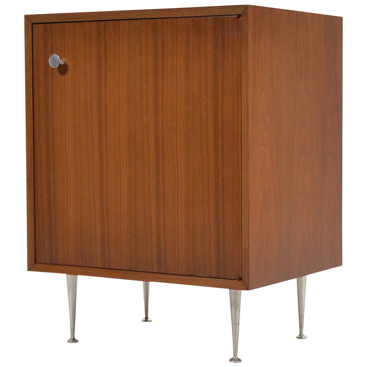 George Nelson Walnut Cabinet by Herman Miller For Sale